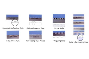 CUTTING AND CREASING RULES