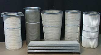 Air Intake Filter Cartridges For Gas Tuines
