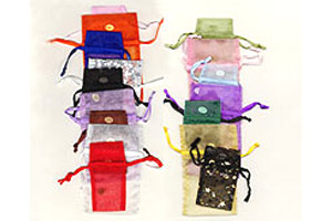 Organza Drawstring Pouches- Small Sizes