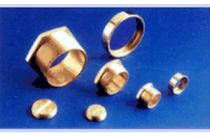 Brass Male and Female Bushes / Slotted Plugs