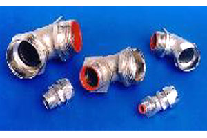 45 ? & 90 ? Fittings for Liquid Tight, Spiral & Pliable Conduits