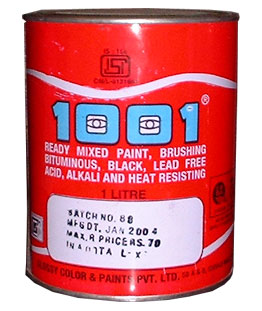 Heat Resistant Paints (1001 BLACK BITUMINIOUS PAINT (IS: 158))