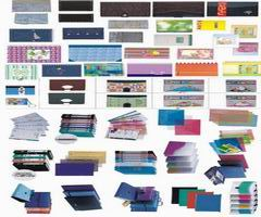 Notebook, Diary, File Folder, Envelope, Memo, Card, Stick Note