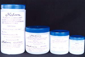 RUBBER LUBRICANTS