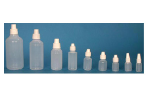 Dropper bottles in LDPE and HDPE