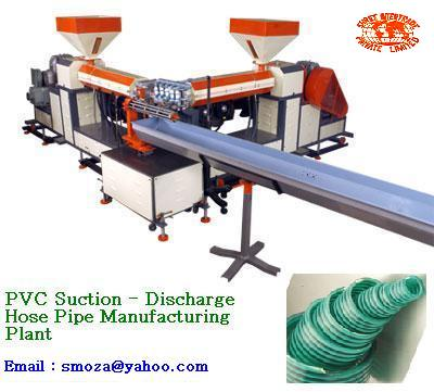 Suction  Discharge Hose Pipe Manufacturing Plant