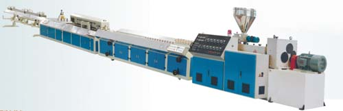 pvc abnormal extrusion line