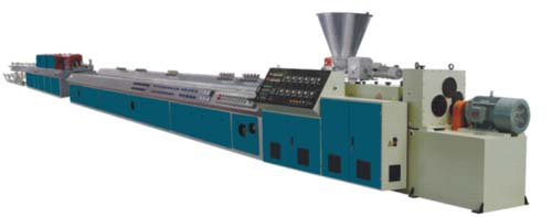 PVC WOOD-PLASTIC PROFILE EXTRUSION LINE
