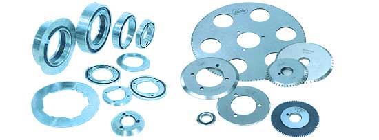 GROUND AND CIRCULAR KNIVES (Consumables for Business Form Presses)