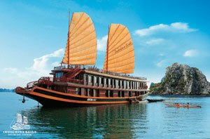 Autumn Promotion from Indochina Sails on Halong bay, Vietnam