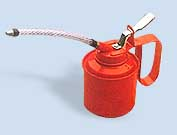 Oil Can With FLX Pvc Spout