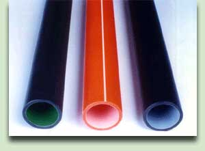 PERMANENTLY LUBRICATED HDPE TELECOM DUCTS