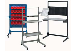 Nexus Stationary Stands and Mobile Trolleys