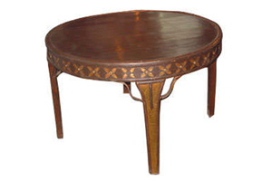 Wooden Round Dinning Table (NST 04)