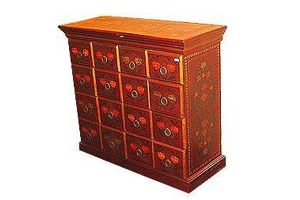 Wooden Painted Chest of Drawers (NSC 11)