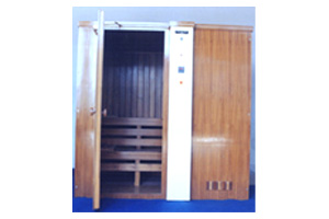 DELUXE SAUNA CABIN (for Two Persons)