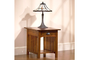 Hardwood End Tables (Kittery Point Cherry Collection End Table)