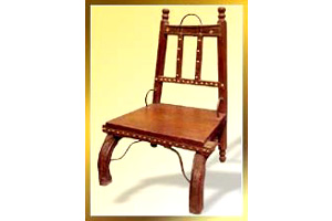 Low Seated Wood Chair