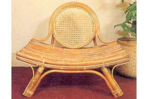 Low Cane Chair