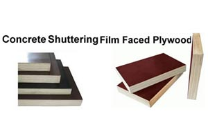 Construction plywood (shuttering plywood)