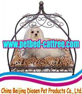 www.petbed-cattree.com Wrought iron dog pet bed pen pet product pet china cat tree supply