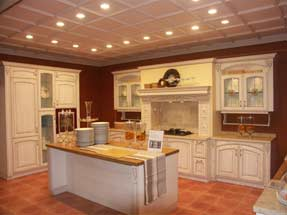 Sell Kitchen Cabinets with Granite Countertop and Stainless Steel Sinks