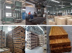 Complete set of machines for Scrimber production line