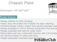 Chapatti Plate With Puffer