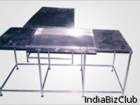 Weighing Platform Perforated Table