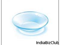LENS AND CONTACT LENS