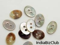 Oval Shell Buttons